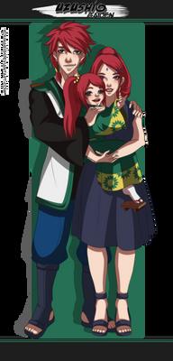 Uzushio Gaiden | Her little family