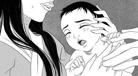 Uzushio Gaiden   Kikyo's timeline : Our new girl : by Lounabis