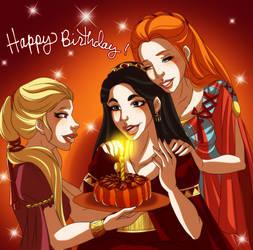 Happy Birthday Psychae! by Lounabis