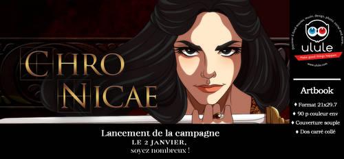 Artbook Chronicae - campagne Ulule by Lounabis