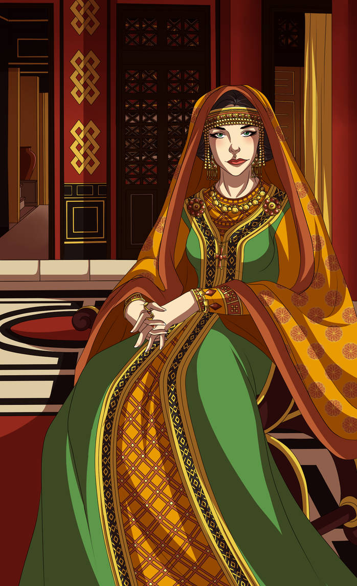Theodelina Regina by Lounabis