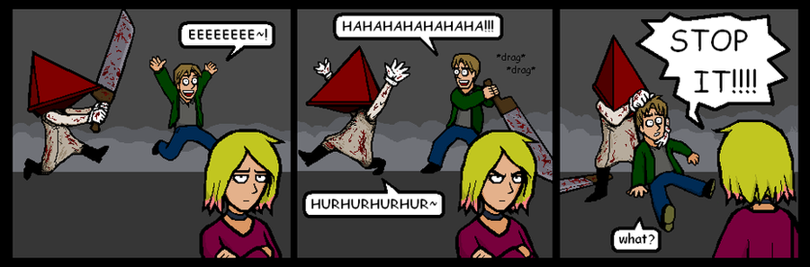 Silly Hill 2 strip 10 by Yamallow