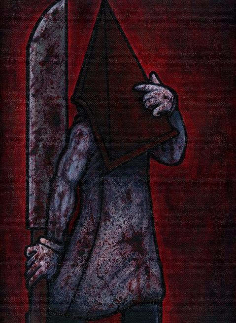 SH Pyramid Head painting by Yamallow