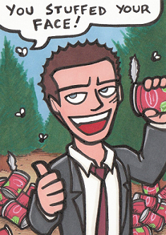 Deadly Premonition: York is a stinky agent by Yamallow