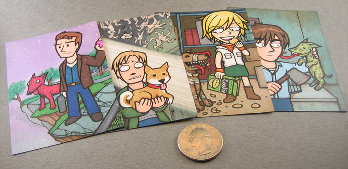 Silent Hill trading card set 1