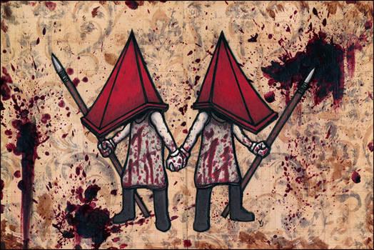 Twin Pyramid Heads