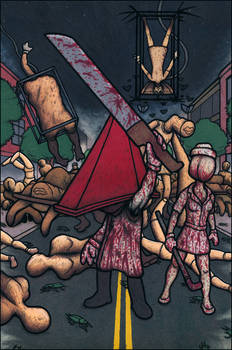 Pyramid Head and Friends - Silent Hill 2