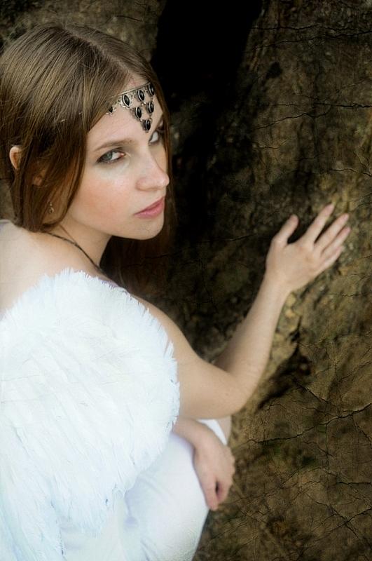 Woodland elf by Kristhania