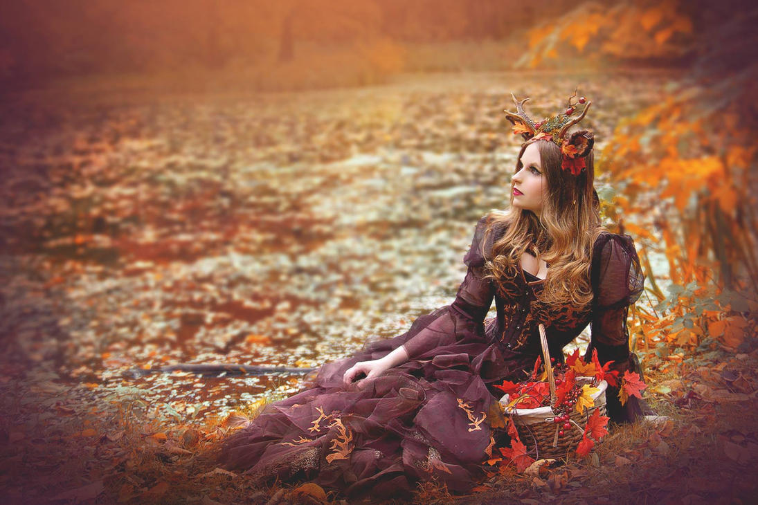 Autumn Garden by Kristhania