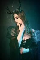 Moon Goddess by Kristhania
