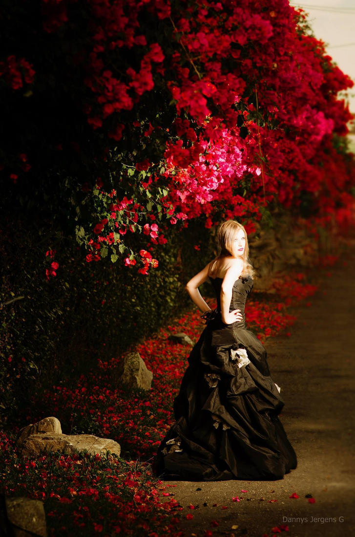 Secret Pathway of Flowers by Kristhania