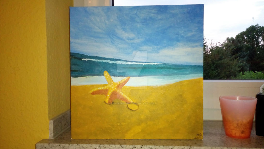 A starfish's dream by DeLeilasenpei
