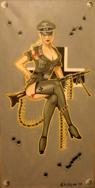 Video de recrutement. German_Pin_up_by_MrErixon