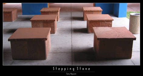 Stepping Stone by yze