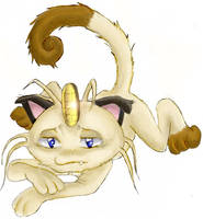 Poor Meowth... by Banane-cuite