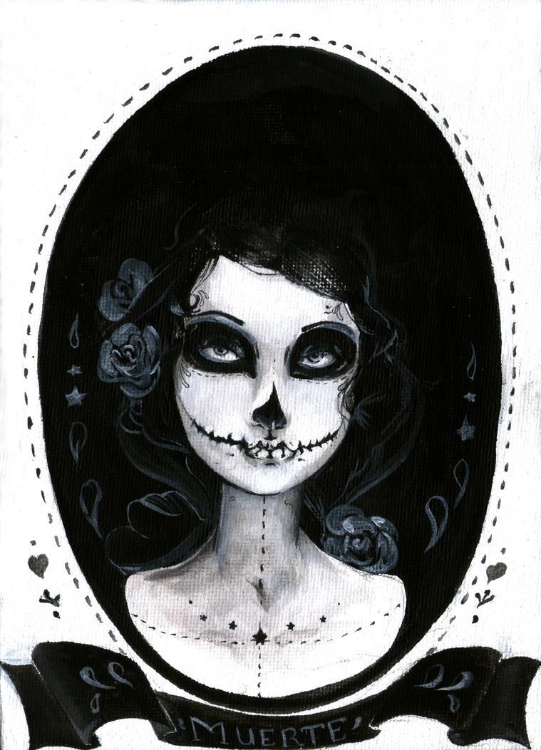Dia de los muertos by Anatis-Ocellata