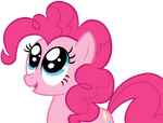 Pinkie is amused