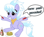 Cloudchaser and Pancakes (Vector)