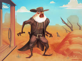 Cowboy Chicken by RichardVatinel