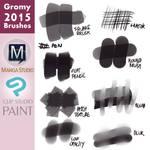 Gromy 2015 Brushes