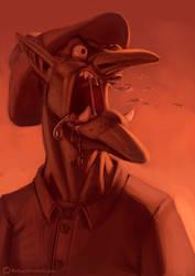 Goblin portrait 06 by RichardVatinel