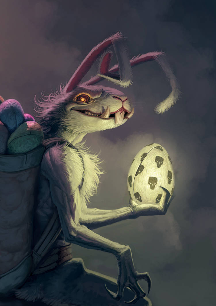 Bad Easter Bunny by RichardVatinel