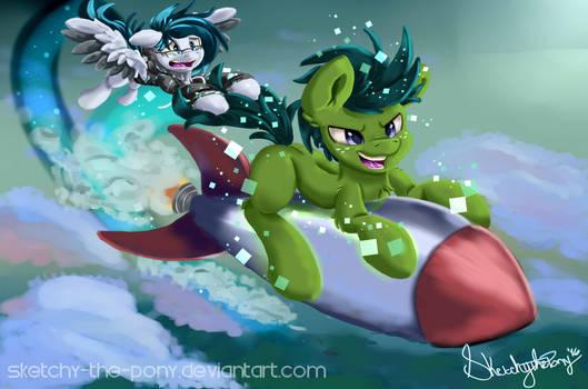 Gift:Ponynoia Blast off 1/2