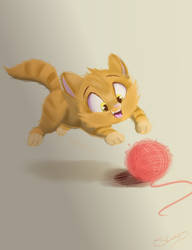 Kitty Cat by Sketchiix3