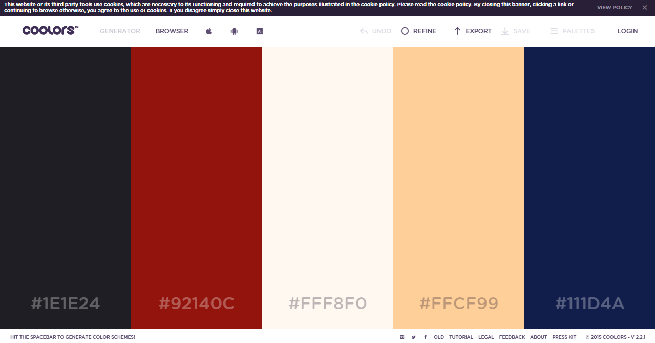 Random colors website - These Palette Colours Are Mainly Based On Graphic Design Or More Towards The Web Design Colours These Colours Have Grey Like Palette To Create Pastel