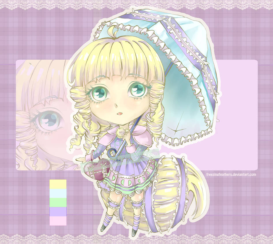 [CLOSED] #14 Auction Adoptable - Pommeling Series