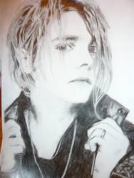 Gerard Way Sketch by Amykin