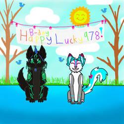 Lucky978 b-day present