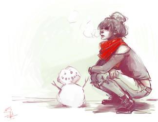 SnowMAN by Kioku-san