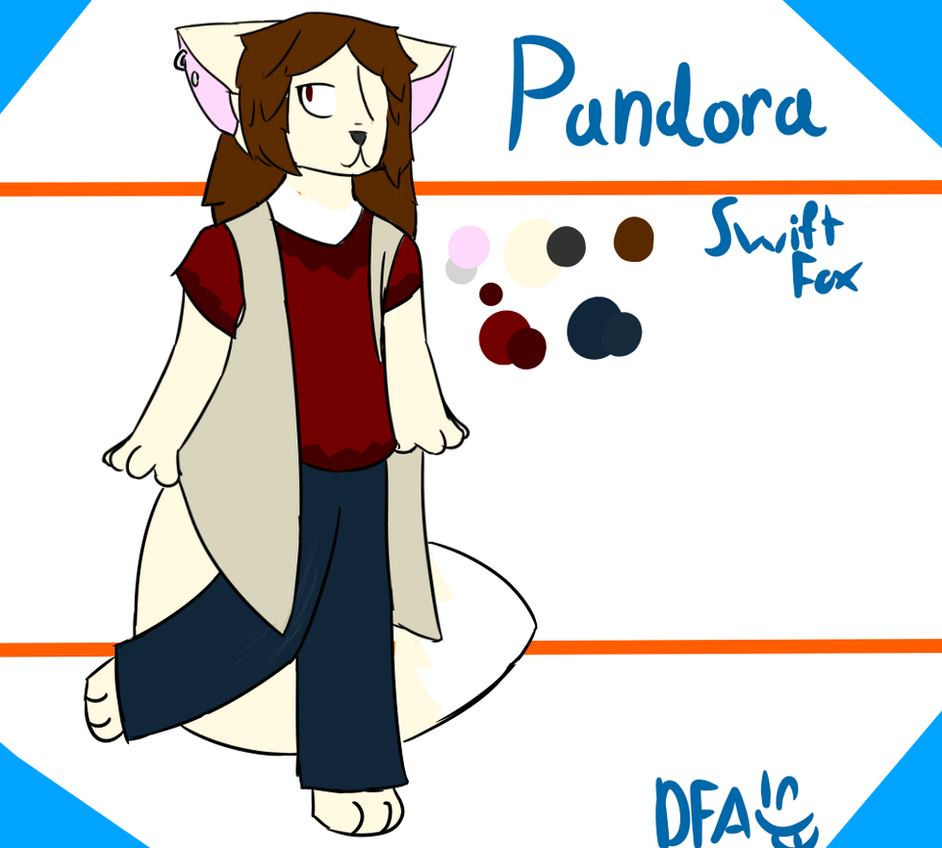 Sona Ref- Pandora by Dragonfoxart