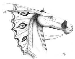 Fantasy horse by lulu575