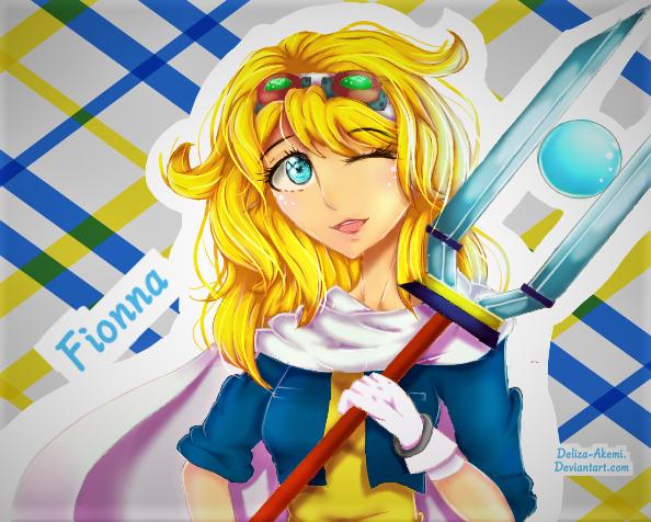 [Contest Entry] Fionna by Deliza-Akemi