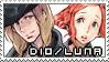 dio/luna stamp by Tsukichu