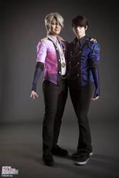 Viktor and Yuuri cosplay