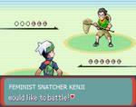 Katawa Shoujo Kenji pokemon battle