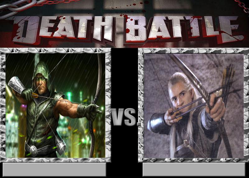 Death Battle! - Green Arrow vs Legolas by Caharvey on ...