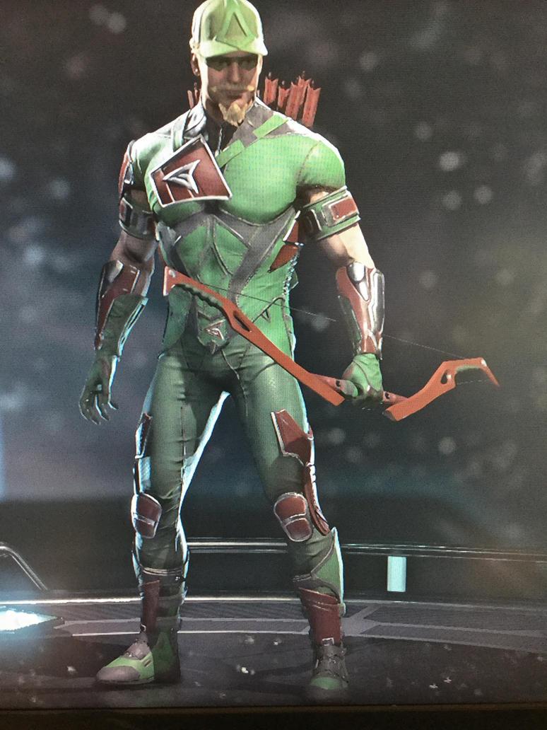 Injustice 2 Green Arrow By Caharvey