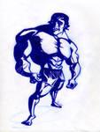 Arnie Body Caricature