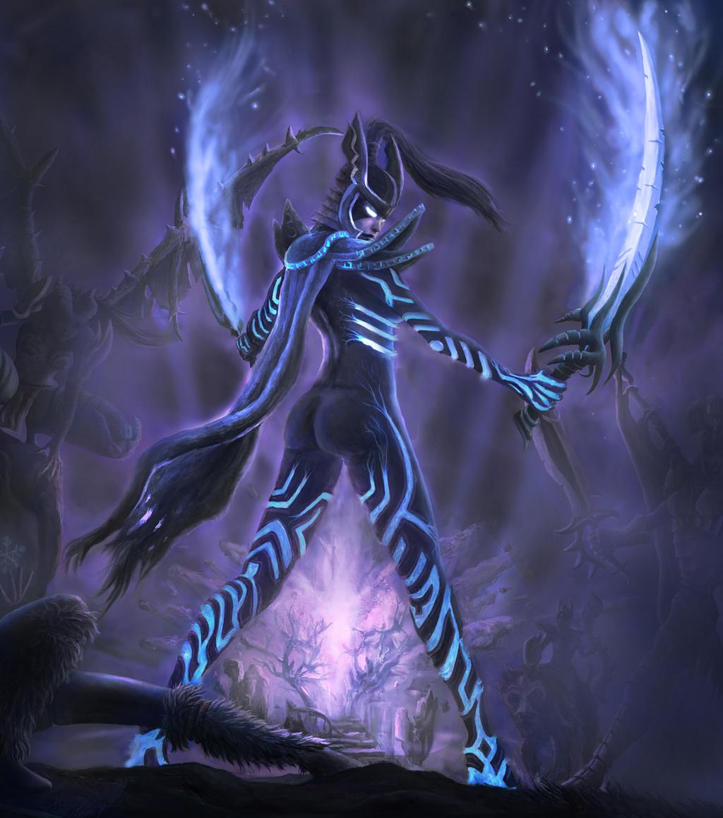 phantom assassin arcana by neb nebojsaobradovic on deviantart