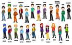 South Park candy dolls