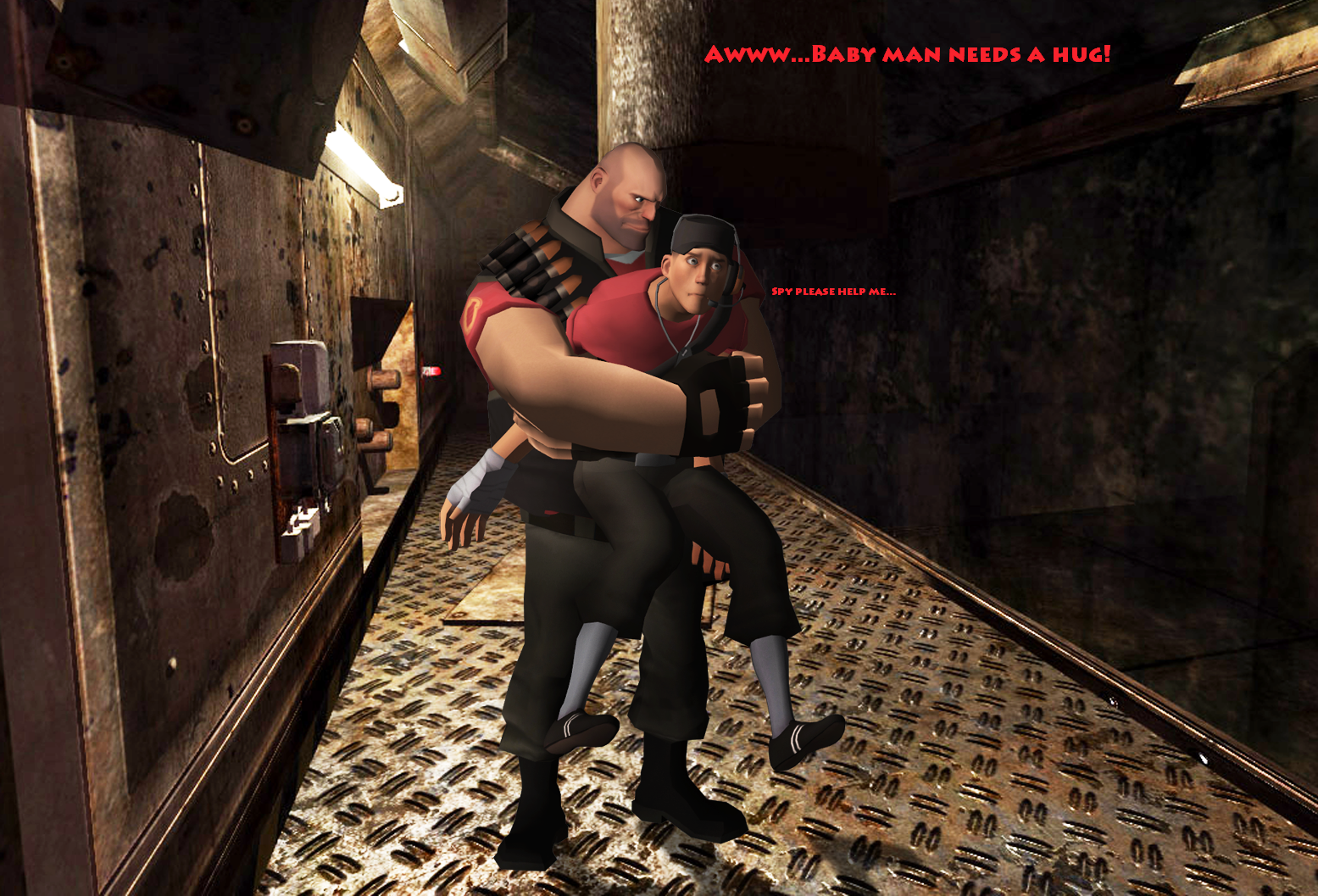 TF2: Baby Man NEEDS A HUG! by SovietMentality