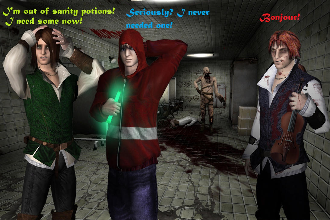 Amnesia + Penumbra: Malo can't stop Stalking by SovietMentality