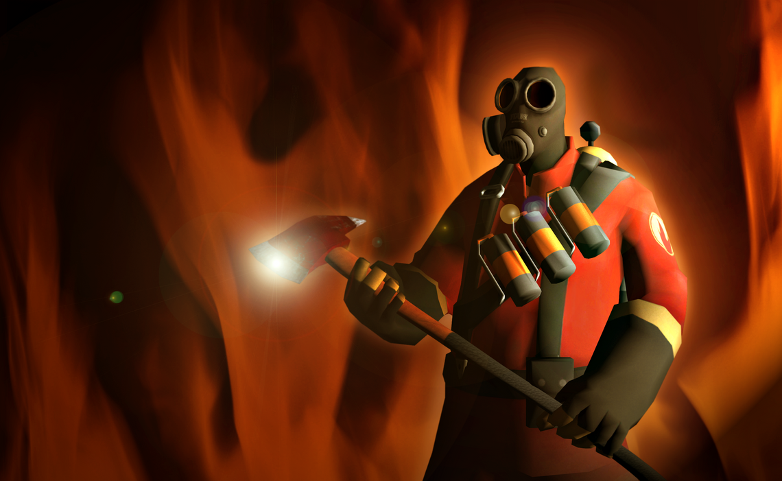 team fortress meet the pyro russian