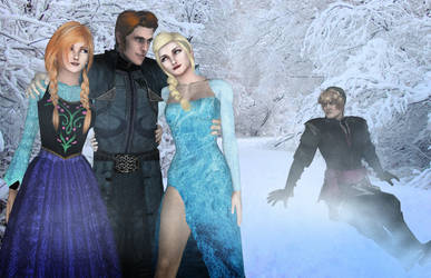XNA Frozen - Hans forgot to turn his charm off