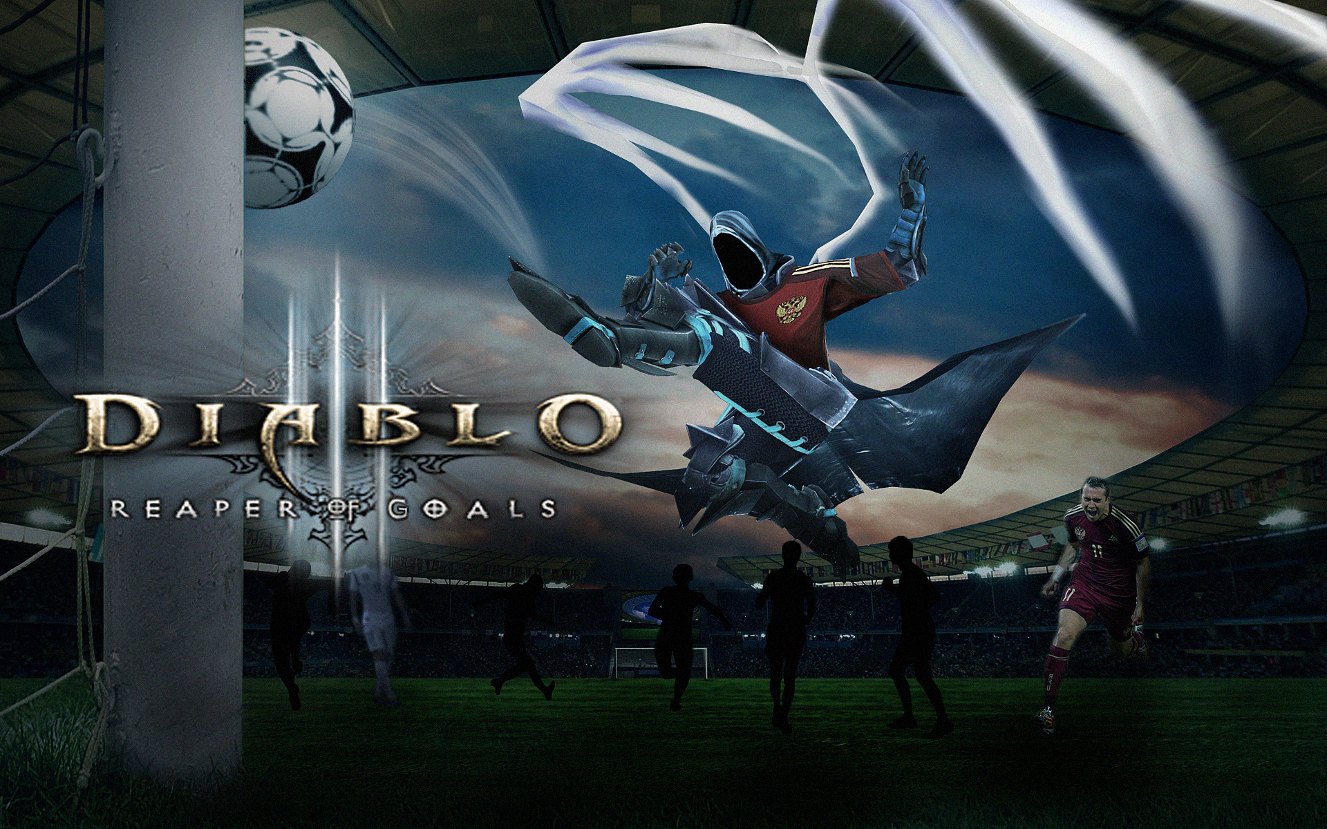 Diablo 3 - Reaper of Goals - Malthael's World Cup by SovietMentality