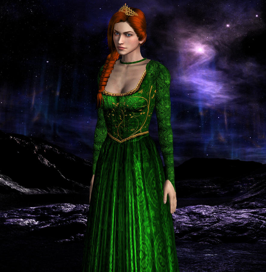 Xna shrek princess fiona human wip by sovietmentality - Princesse fiona ...